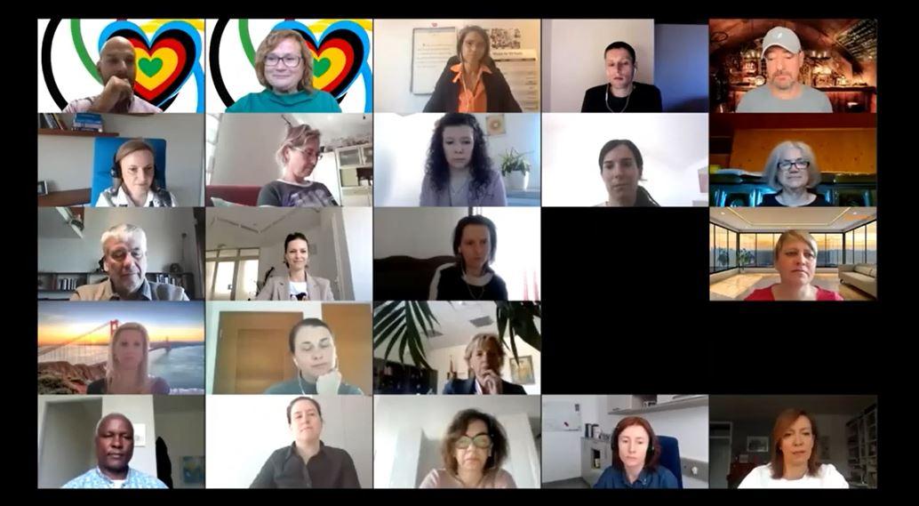 Globalna skupnost AEIOU voditeljev